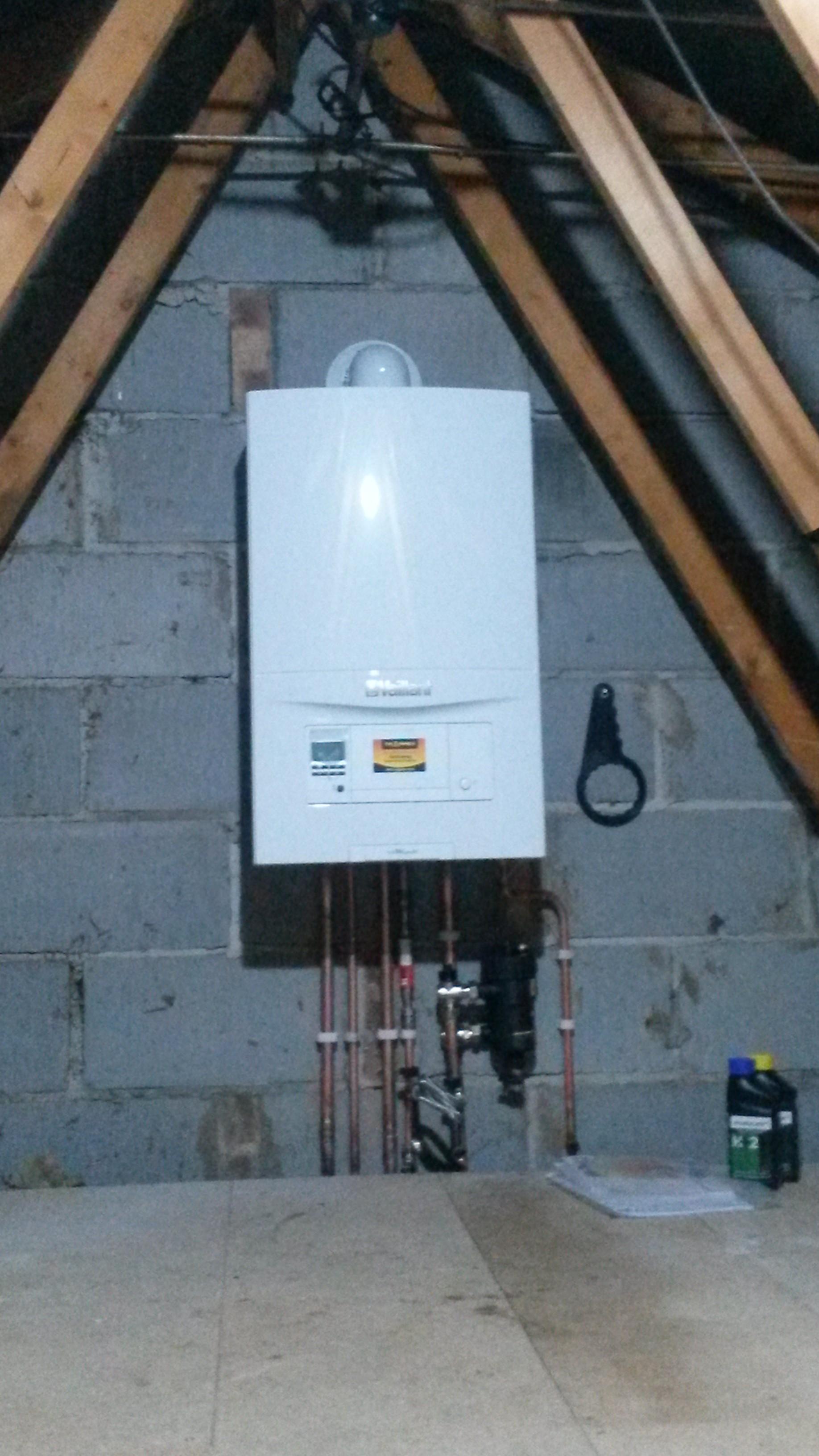 Combi Boiler Loft Installation