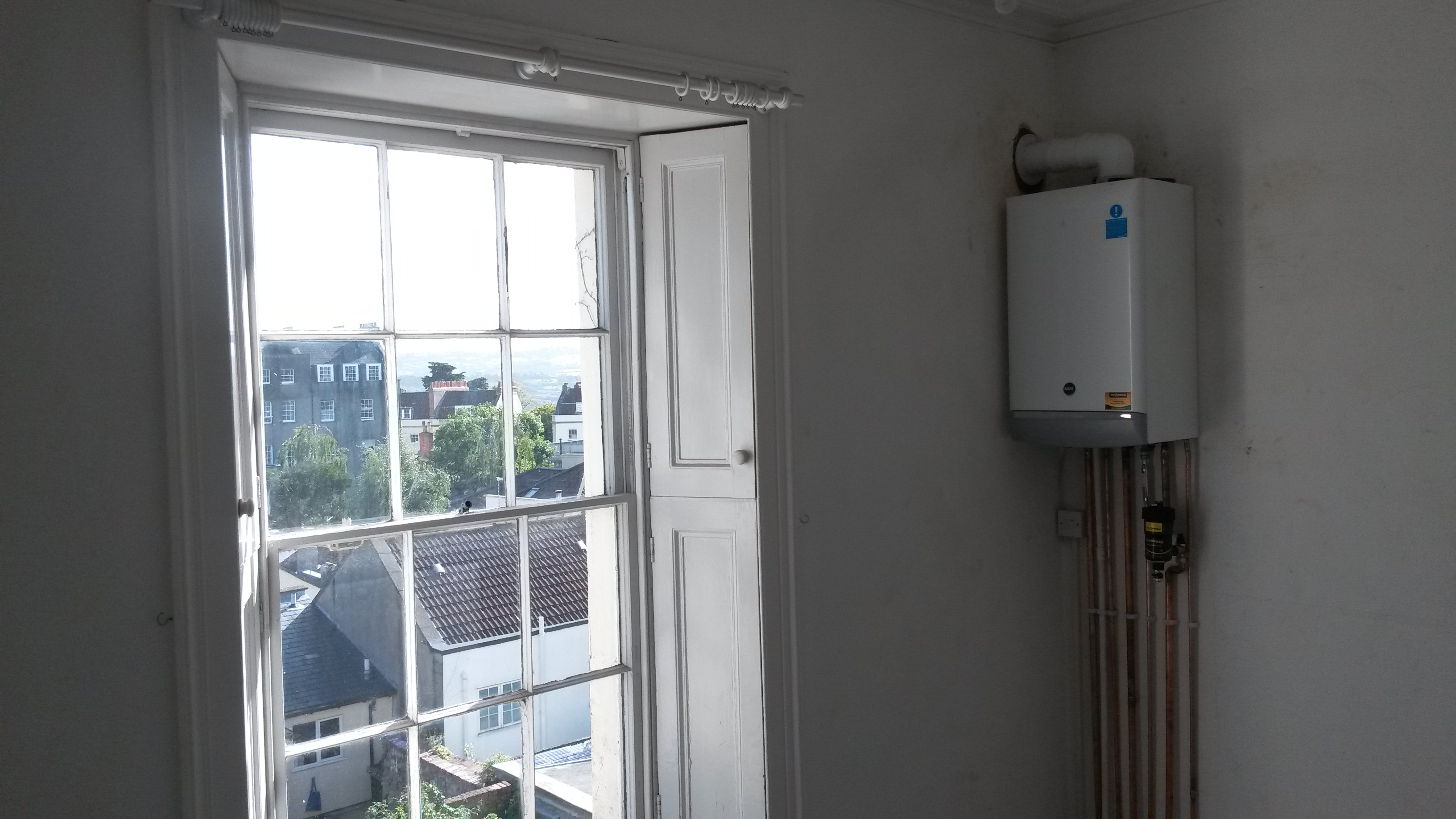 Baxi Boiler Relocation