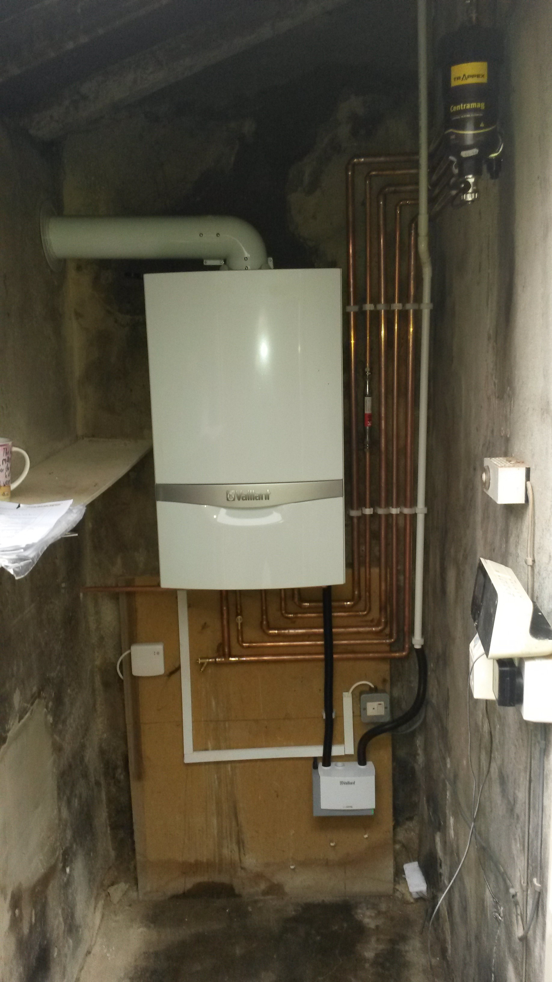 Vaillant ecotec with ecolevel pump