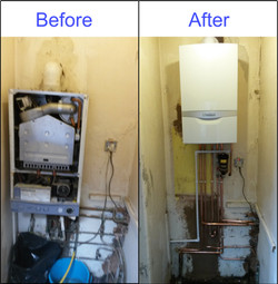 Replacement Vaillant Combi Boiler