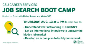 Resources for Job Search Boot Camp:  Networking on 8/13
