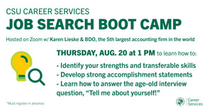 Resources for Job Search Boot Camp:  Tell Your Story on 8/20