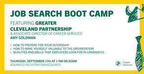 Resources for Job Search Boot Camp: How to successfully manage your internship on 9/17