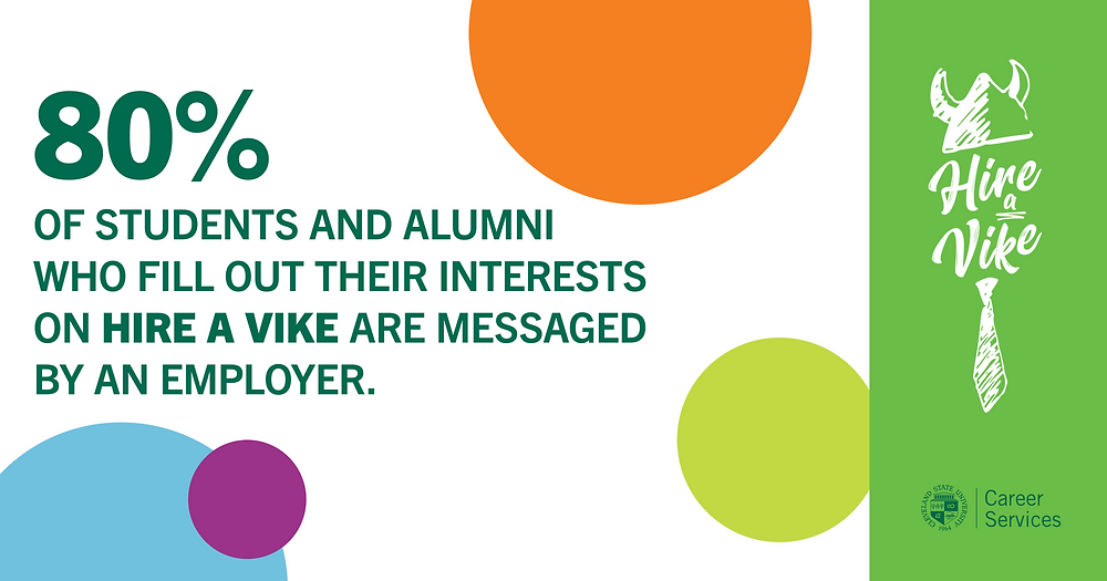 Update your Hire A Vike profile. 80% of members with their interests listed are messaged by employers.