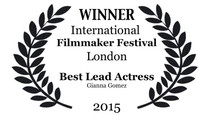 WINNER at The International Filmmaker Festival London 2015.