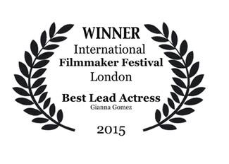 WINNER at The International Filmmaker Festival London 2015.