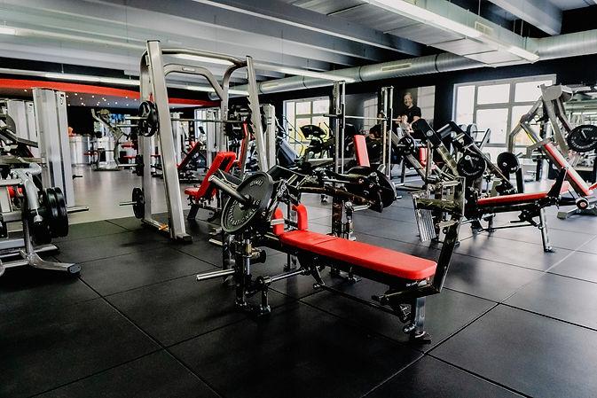 Arcadium Fitness Ansbach Plate Loaded Gym80 Gerätetraining