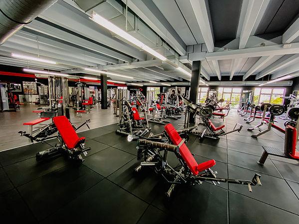 Arcadium Fitness Ansbach Sport Plate Loaded Gerätetraining Gym80 Club