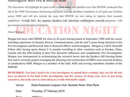 5/2/15 Education Night