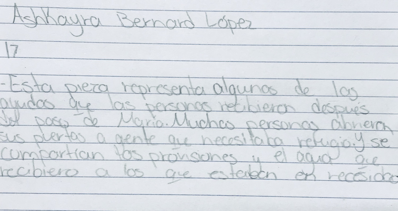Thumbnail: Después de María by Ashkayra Bernard Lopez