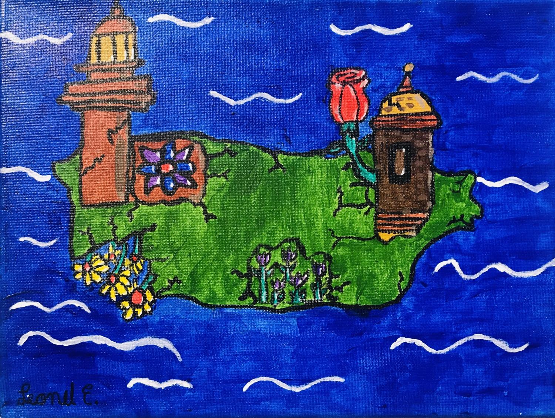 Puerto Rico Florece by Leonel E. Gonzalez