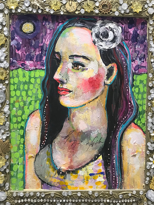 Hope and Faith by Dana Bloede SOLD