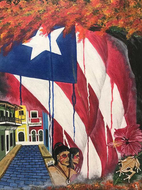Puerto Rico Llora by Benny Sanchez