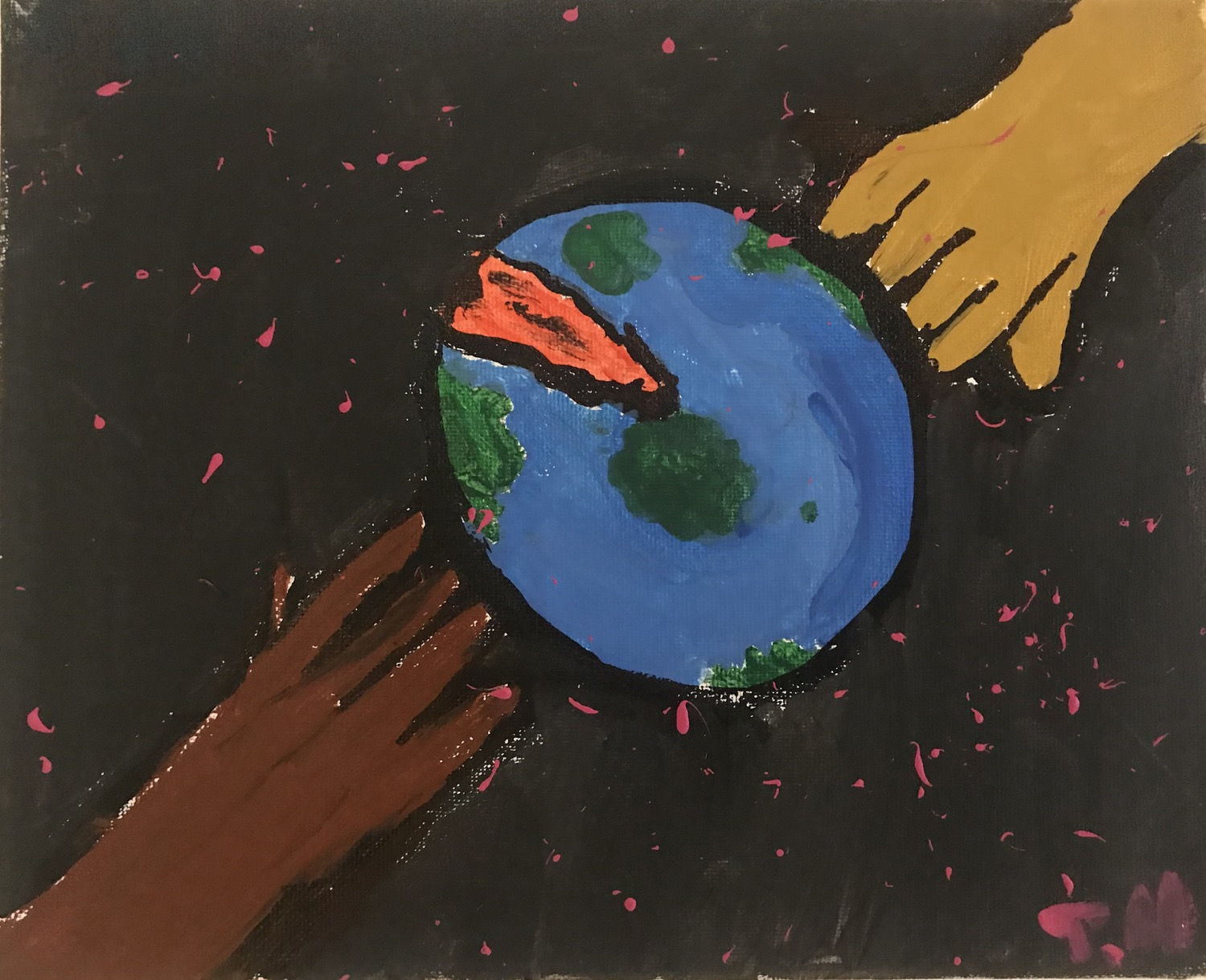 Helping Hands by Trenequa Hinton