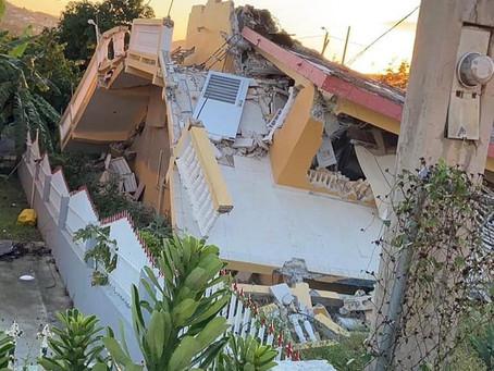 As Earthquakes Shatter Puerto Rico...