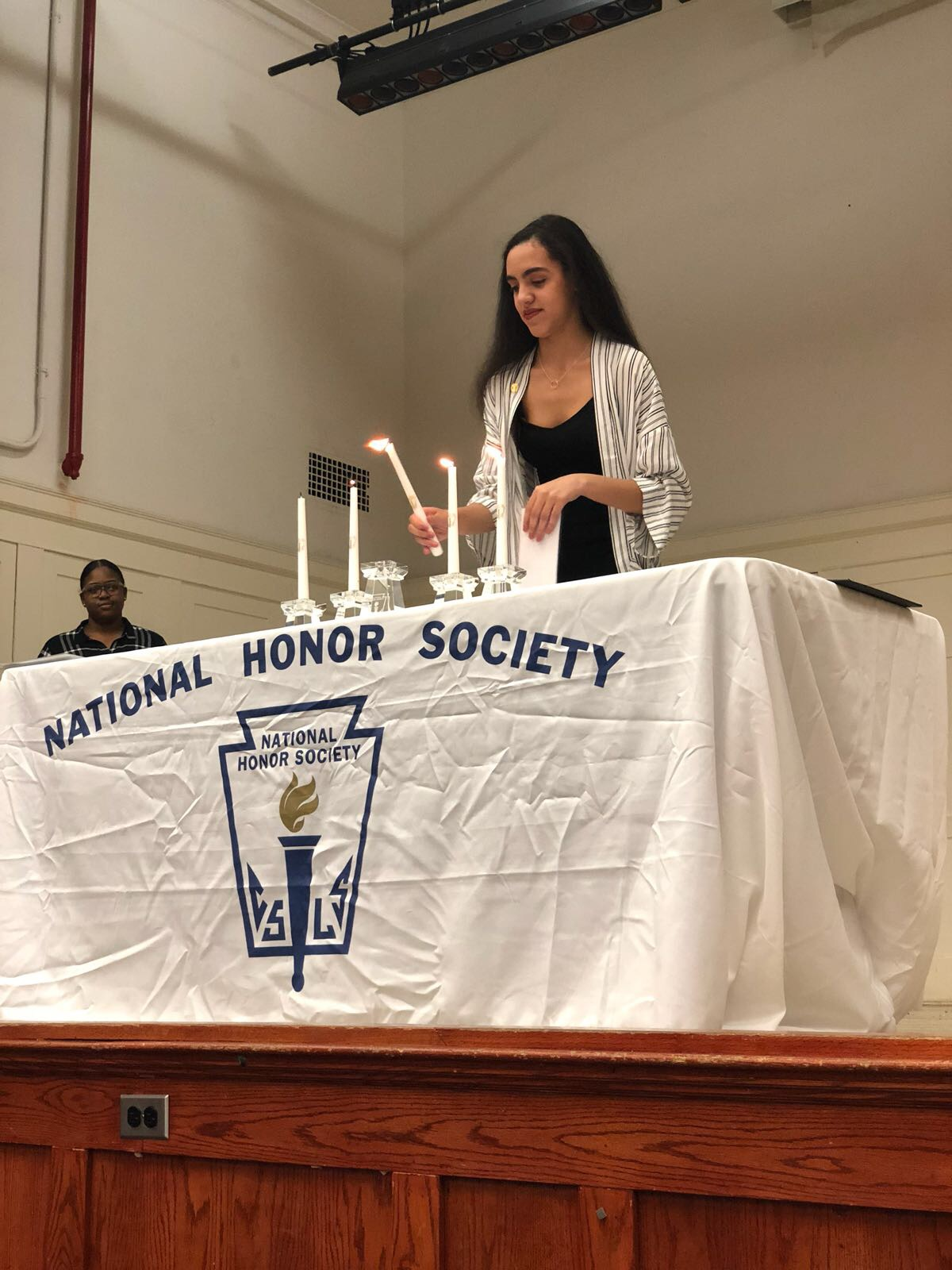 NHS Induction Ceremony