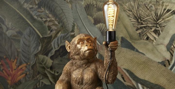 Werner Voss - Tischlampe Affe sitzend