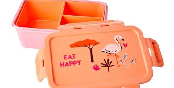 "RICE Brotdose Lunchbox ""Flamingo"""