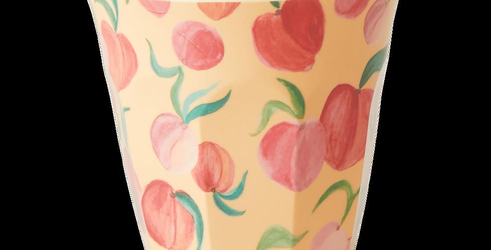 Rice - Melamin Becher Peach