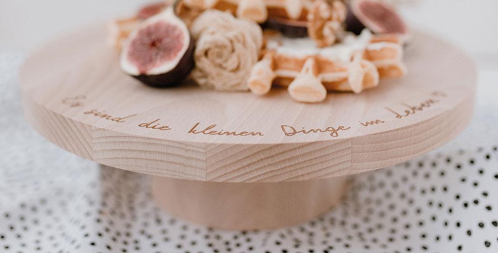 Eulenschnitt - Kuchenständer Die Kleinen Dinge Im Leben