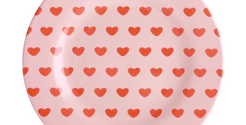 RICE - Melamin Teller Herzen