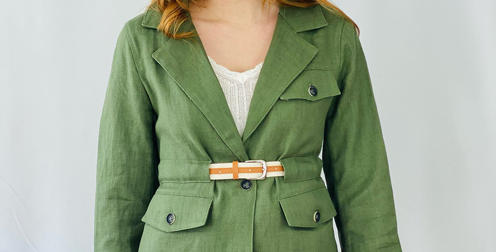 Molly Bracken - Woven Jacke Khaki