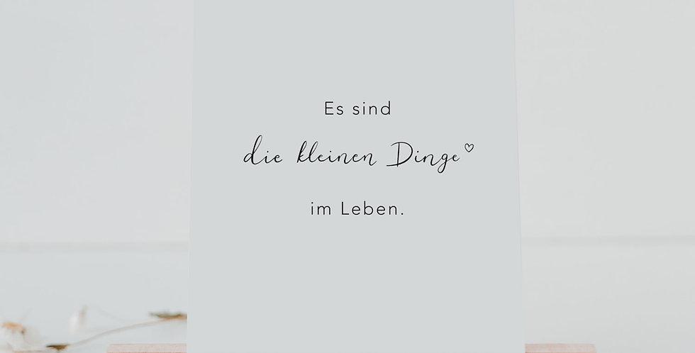 Eulenschnitt - Postkartenständer im 2er Set aus Buchenholz