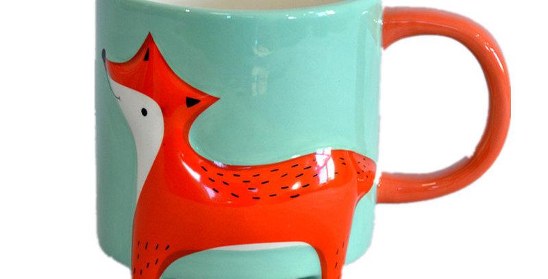 """Kaffebecher """"Cute Fox"""""""