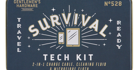 Gentlemen's Hardware - Survival Tech Kit für IPhone