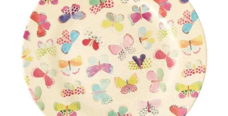 RICE - Melamin Teller Schmetterling