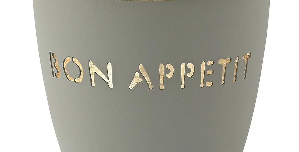 Gift Company - Windlicht Bon Appetit