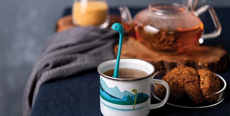 Cup Of Nessie - Tee Infuser mit Becher