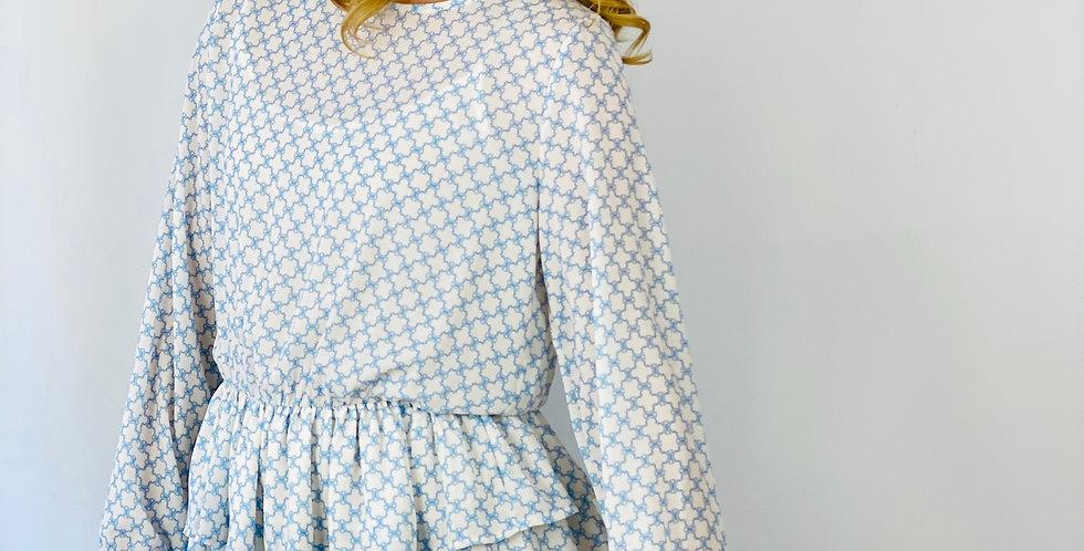 Tailliertes Tunika Kleid