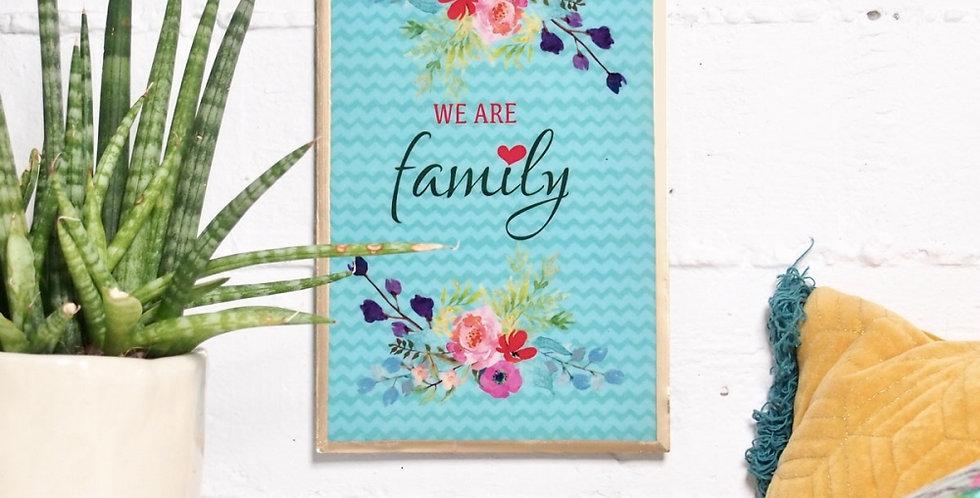 NOI - Wandbild Family