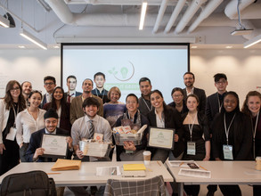 Our Inaugural Event: Sustainability Pitch Competition