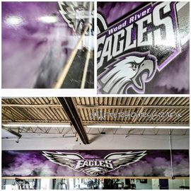 Wall Wrap for Wood River School