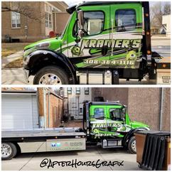 Tow Truck Wrap for Kramer's