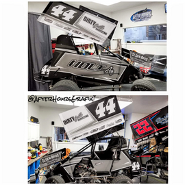 Sprint Car Wrap