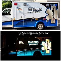 Ambulance Wrap for Marcus