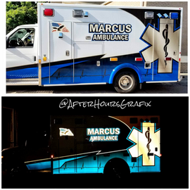 Ambulance Wrap for Marcus