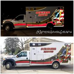 Ambulance Wrap for Scribner