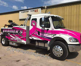 Tow Truck Wrap for Kramer's