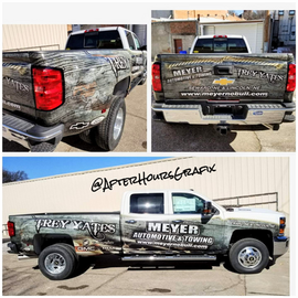 Truck Wrap for Meyer Automotive and Towing