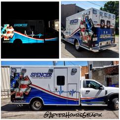 Ambulance Wrap for Spencer