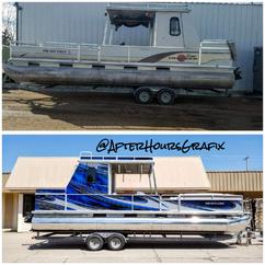 Pontoon Boat Wrap