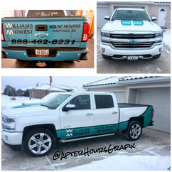 Truck Wrap for Williams Midwest House Movers
