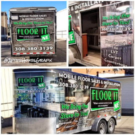 Trailer Wrap for Floor It NE