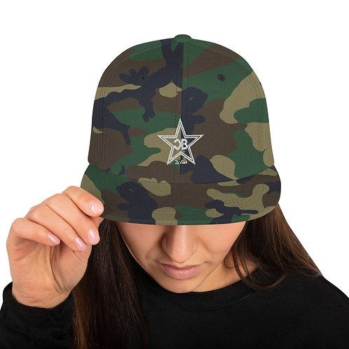 CB Snapback Hat