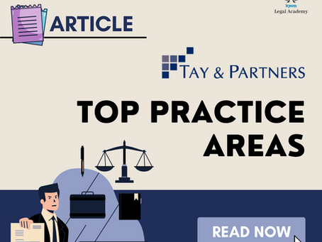 Tay & Partners Top Practice Areas
