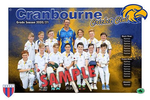 Cranbourne Cricket Team Photo